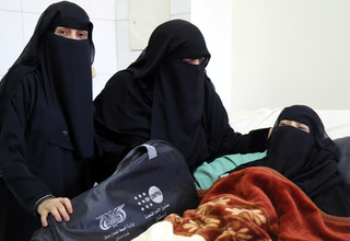 A woman recovers from fistula treatment surgery in Yemen. Obstetric fistula almost entirely preventable; its persistence is a sign of global social injustice. © UNFPA Yemen