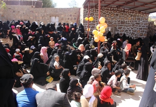 Awareness raising session at the new safe space ©UNFPAYemen
