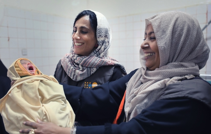 n Yemen, the maternal mortality rate declined from 365 maternal deaths for 100,000 live births in 2003 to 148 in 2013 but according to UN reports this is estimated to have increased to 385 in 2015 or even higher in recent years.