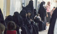 Displaced women waiting for reproductive health services at a health facility in Hodeidah © UNFPA Yemen